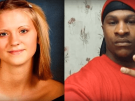 Jessica Chambers (Right) alleged murderer Quinton Tellis (Left) who is accused of burning Jessica alive.